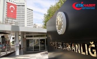 Türkiye'den Hollanda Temsilciler Meclisinin kararlarına tepki