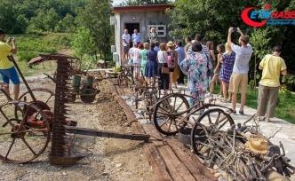 Balkanların tek 'Eşek Müzesi'ne yoğun ilgi