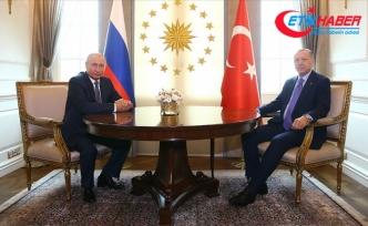 Cumhurbaşkanı Erdoğan ile Putin bir araya geldi