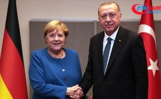 Erdoğan ile Merkel videokonferans görüşmesi gerçekleştirdi
