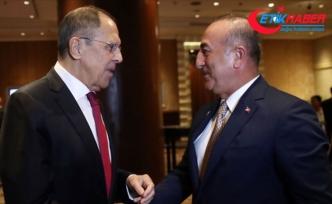 Lavrov ve Çavuşoğlu Suriye'nin kuzeydoğusunu görüştü