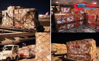 MSB: Kovid-19'la mücadelede kullanılacak tıbbi yardım malzemeleri Tunus'a gönderildi