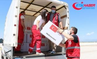 Türkiye'nin tıbbi yardımları Kuzey Makedonya'ya ulaştı