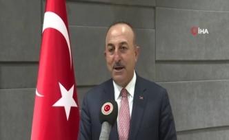 Dışişleri Bakanı Çavuşoğlu, Libya dönüşü açıklamalarda bulundu