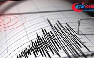 İZMİR'DE DEPREM! İzmir'de 4.8 büyüklüğünde deprem!