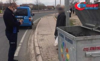 Kayseri'de çöpten yiyecek topluyormuş gibi davranan dilencilerin rezidansta kaldığı tespit edildi