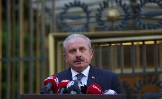 """TBMM Başkanı Şentop: """"Mescid-i Aksa'da namaz kılan cemaate saldırı açık bir devlet terörüdür"""""""