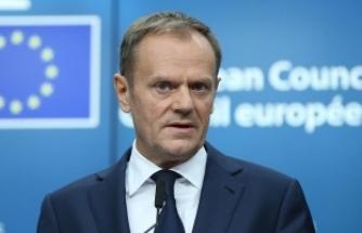 AB Konseyi Başkanı Tusk: Esasen Rusya'ya yönelik tepkimiz daha önce emsali olmayan bir tepki