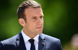 Macron: Tüm liderler, bu saldırının ardında Rusya'nın sorumluluğunun olduğunu teyit ettiler