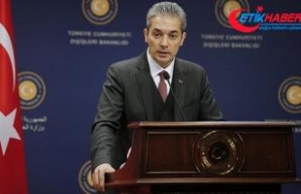 Dışişleri Bakanlığı'ndan 'Patriot' açıklaması