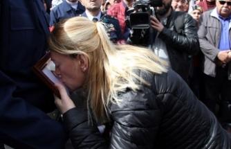 Afrin şehidinin cenazesi, helallik için önce Kayseri'ye getirildi