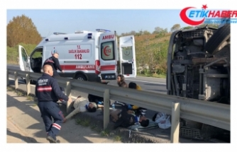 Bakan Soylu'nun konvoyu önünde kaza: 6 yaralı