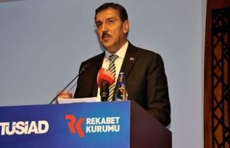 Bakan Tüfenkci'den iş dünyasına ''erken seçim'' mesajı