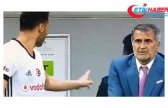 Beşiktaş'ta Tosic, Kendisini Uyaran Şenol Güneş'e Kızdı