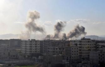 BM Esed rejiminin Yermük Kampı'na saldırılarından endişeli