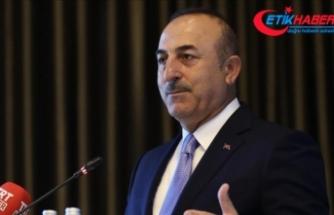 """Çavuşoğlu'dan Avrupalı siyasilere """"ayrılıkçı dil"""" uyarısı"""
