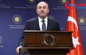 Çavuşoğlu'dan Belçikalı mevkidaşına PKK uyarısı