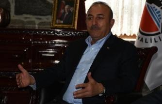 Dışişleri Bakanı Çavuşoğlu: Neden Kürt kardeşlerimizi öldürenlerden hesap sormuyorlar