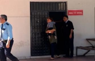 Eşi dövdü, çocuğuyla polise sığındı