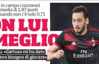 """""""Gattuso oyun kaliteme güvendi"""""""
