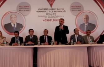 'Güçlü ve tam bağımsız Türkiye'ye giden yol Cumhur İttifakı'ndan geçmektedir'