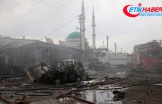 Iğdır Sanayi Sitesi'nde patlama: 1 ölü, 13 yaralı