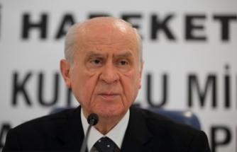 MHP Lideri Bahçeli: Başbakan önemli bir ikazda bulunmuş, Abdullah Gül'ün ona uyması lazım