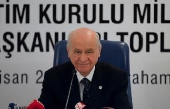 MHP Lideri Bahçeli: Seçim stratejimiz, iki esasa dayanmaktadır