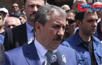 Destici: AK Parti'nin seçim beyannamesi, çok doyurucu ve kapsayıcı