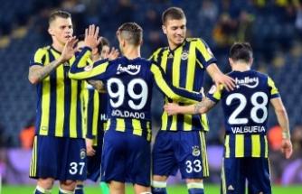 Fenerbahçe'de sezon istatistiği