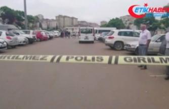 Hastane otoparkında hareketli dakikalar: 1 jandarma yaralandı