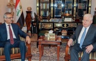 Irak Cumhurbaşkanı KDP ve KYB heyetleriyle görüştü