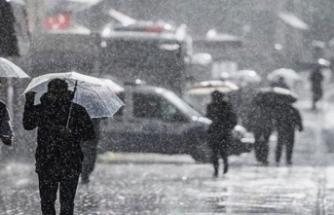 Meteorolojiden yurt geneli için yağış uyarısı