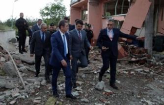 Milli Savunma Bakanı Canikli, MKE Barut Fabrikası'nı inceledi