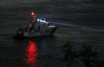 Sarıyer'de denize düşen asker bulunamadı
