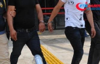 AK Parti'nin seçim bürosuna EYP atan şüpheliler yakalandı
