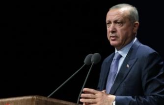 Cumhurbaşkanı Erdoğan: Türkiye tüm dünyaya demokrasi dersi vermiştir