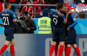 Fransa son 16 turuna yükseldi