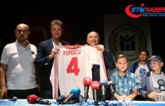 Galatasaray'ın efsanesi Popescu Ankara'da