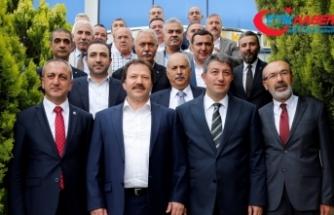 MHP'den Ankaragücü'ne ziyaret