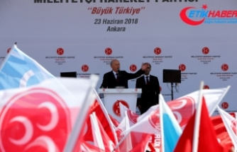 MHP Lideri Bahçeli: Ha PKK ha CHP, ha HDP ha CHP, ha İP ha CHP, aralarında bir fark yoktur