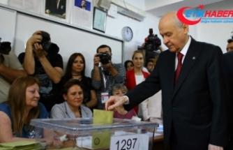 MHP Lideri Bahçeli: Sağlıklı bir seçim ortaya çıkacaktır