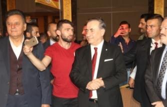 Mustafa Cengiz, Konya'da Galatasaraylı taraftarlarla buluştu
