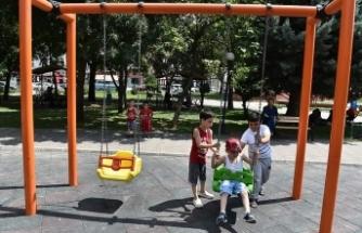Başkentte çocuk oyun alanlarına 24 saat kameralı gözetim