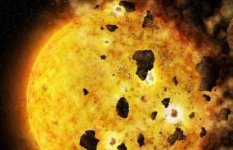 Bir gezegenin yıldız tarafından yutuluşu ilk kez kaydedildi
