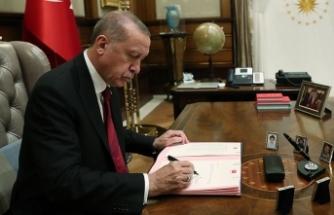 Cumhurbaşkanı Erdoğan Danıştaya 4 üye seçti