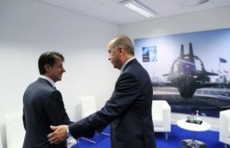 Erdoğan İtalya Başbakanı ile görüştü