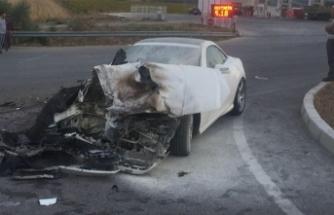 Giresun Barosu Başkanı, kazada yaralandı