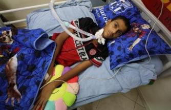 İsrail kurşunuyla felç olan Filistinli çocuk Türkiye'de tedavi olmak istiyor
