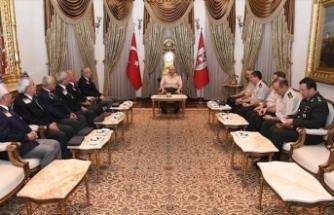 Kıbrıs gazilerinden Genelkurmay Başkanı Güler'e ziyaret